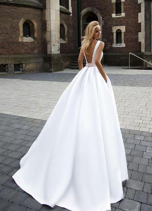 Свадебное платье оксана муха,  коллекция 2016-2017