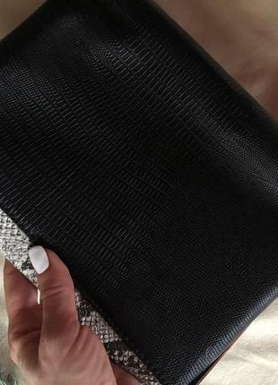Трендовая сумка от atmosphere в змеиный принт, сумка cross body4 фото