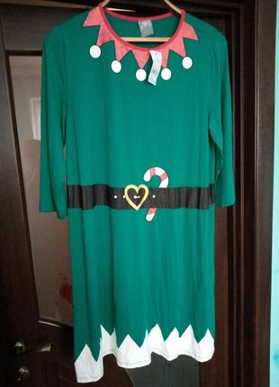 Гарне новорічне плаття