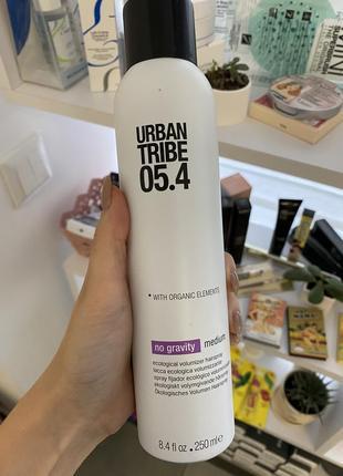Лак для волос  urban tribe 05.4 no gravity эко-лак 250 мл.