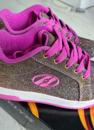 Роликовые кроссовки heelys3 фото