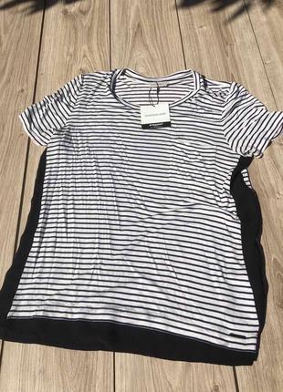 Стильная актуальная футболка тренд calvin klein h&m zara asos massimo dutti блуза блузка
