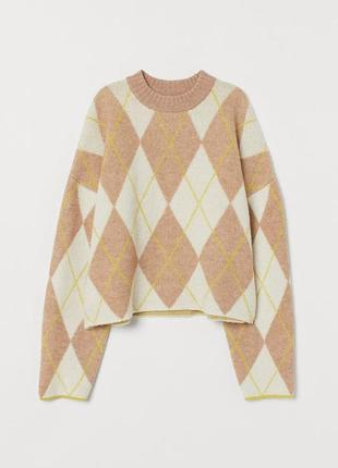 Стильний сведрик кофта свитер джемпер новий шерсть