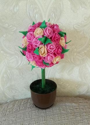Топиарий, декор, искусственные цветы