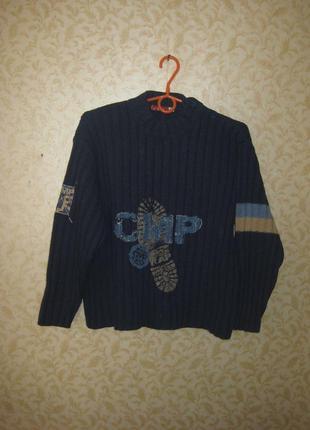 Шикарный, практичный свитер на мальчика 11-12лет.бренд с.м.р.