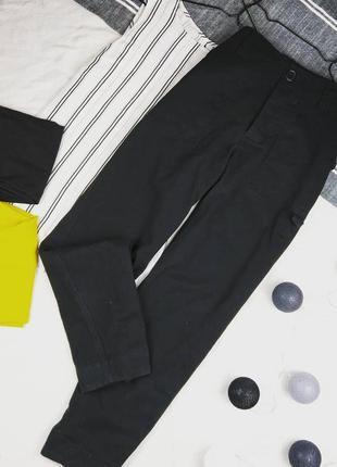 Брюки штаны с высокой талией asos