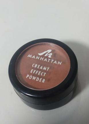 Manhattan кремово-ефектний порошок для лиця тіла.