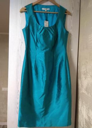 Шёлковое платье от известного британского бренда