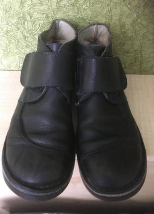 Туфлі шкіряні від kickers