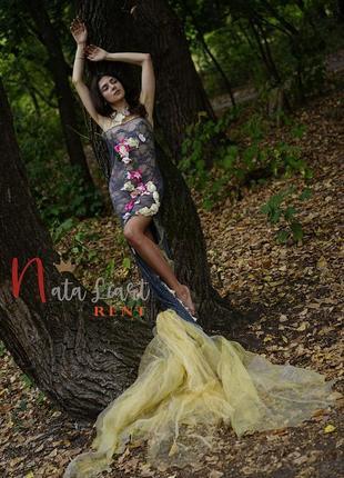 Будуарное платье русалочки для творческих фотосесси