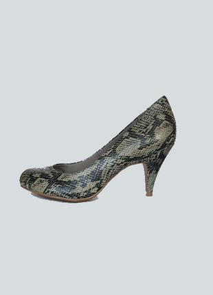 Туфли питон m&s uk 7 1/2 р. 41 стопа 26,5 см