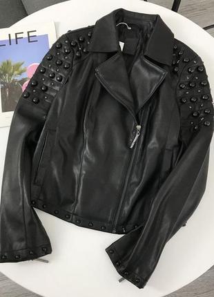 Новая с биркой шикарная курточка косуха
