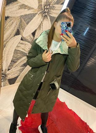 Теплое и удобное пальто