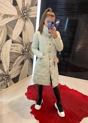 Теплое и очень удобное пальто
