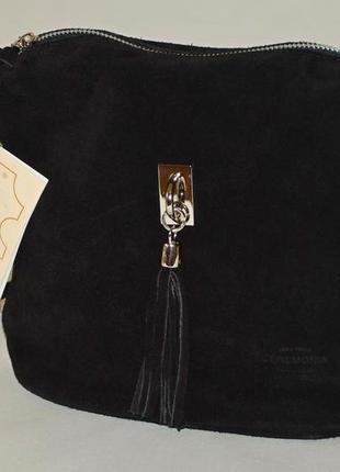e94d26477d72 Замшевая сумка кросс боди, италия, vera pelle Vera Pelle, цена - 800 ...