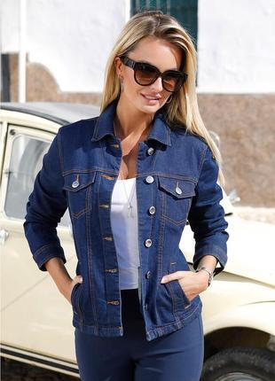 Женская  джинсовая куртка bonprix bpc selection .