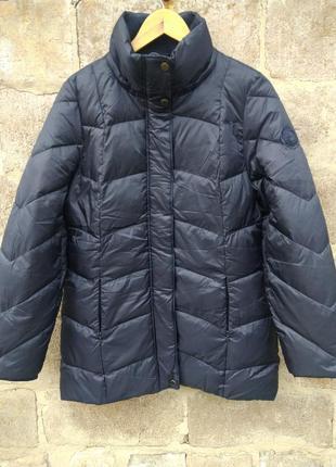 Невероятно качественный пуховик-пальто 100% пух