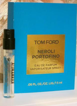 Tom ford  neroli portofino - пробник унисекс
