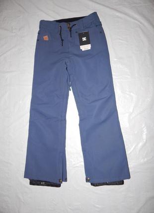 Р. 152-158-164 мебрана 10к, сноубордические лыжные штаны dc, сша