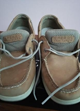 Топсайдеры sperry туфли мокасины размер 38