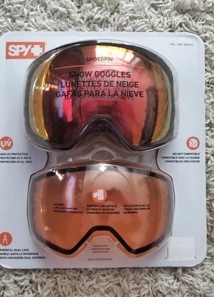 Маска spy + underpin горнолыжная / сноуборд (оригинал 100%)