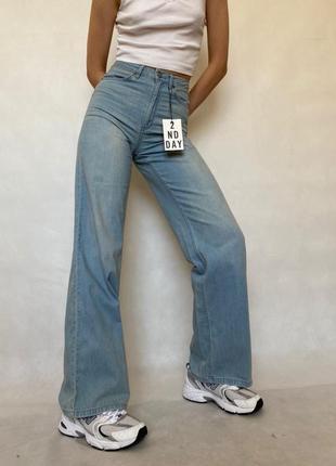 Wide leg абсолютно новые джинсы с биркой брюки штаны