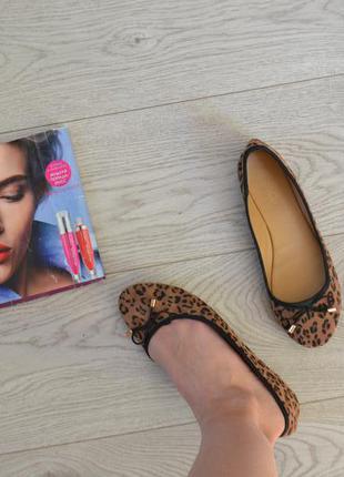 Стильные балетки туфли