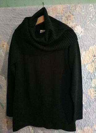 Вязаный свитер 🌼 туника