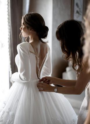 Весільна сукня від millanova. свадебное платье от millanova.