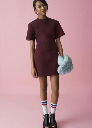 Платье футляр из неопрена asos