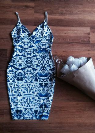 Идеальное обтягивающее платье missguided