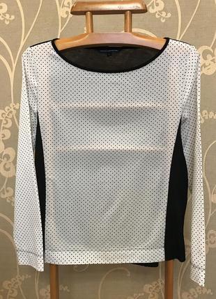 Нереально красивая и стильная двухцветная блузка.