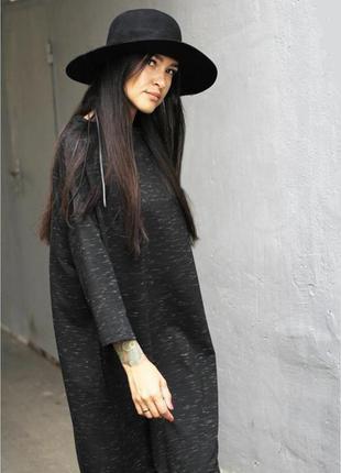 Новая шерстяная шляпа с полями h&m