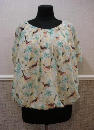 Шифоновая блузка большого размера доставка
