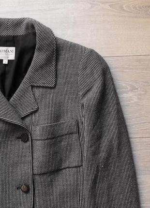 Дорогой деловой пиджак armani collezioni antinea