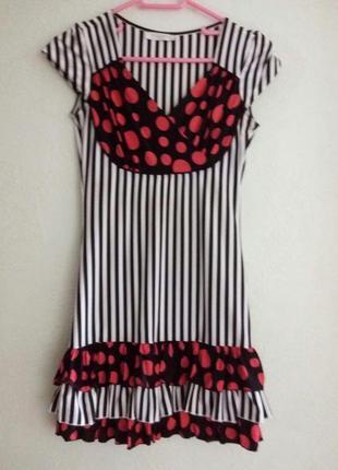 Супер платье в полоску pole&pole