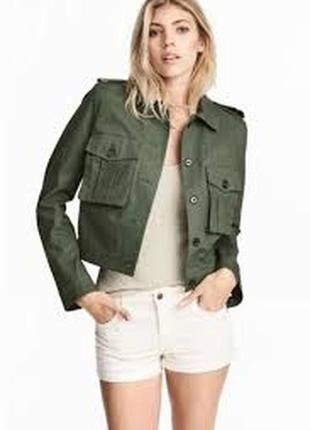 Курточка , бомбер цвета хаки . ветровка