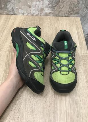 Salomon 34 р кроссовки кросівки черевички ботинки