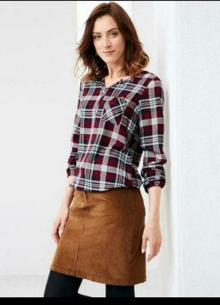 Блуза из вискозы от бренда tcm tchibo. германия. оригинал!