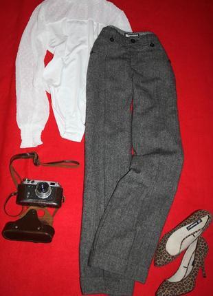 Стильные брюки клеш от бедра esprit. теплые штаны