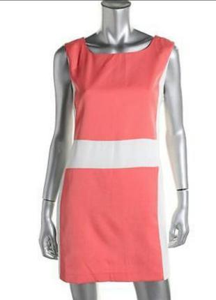 Двухцветное платье от zara