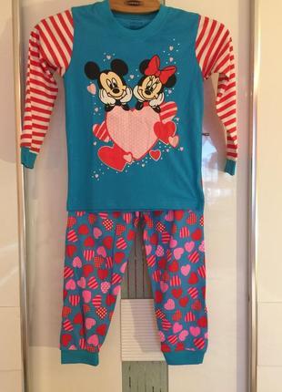 Пижама детская яркая 100% коттон