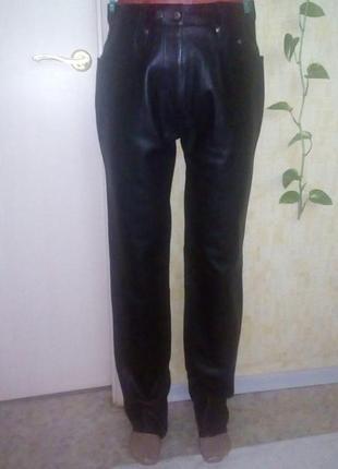 Крутые 100 % кожаные джинсы/штаны/джинсы/брюки/кожаные брюки