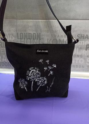 Джинсовая сумка3 фото