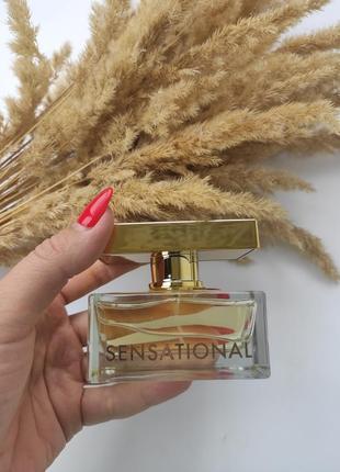 Жіноча парфумована вода sensational від farmasi