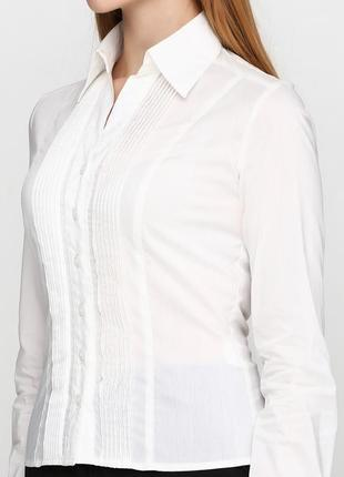 Удобная практичная блуза, рубашка молочного цвета.   #stefanie l