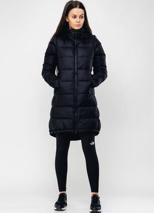 Двухсторонний пуховик куртка пальто the north face