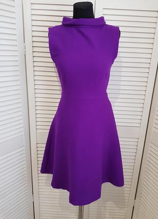 Теплое фиолетовое платье tara jarmon