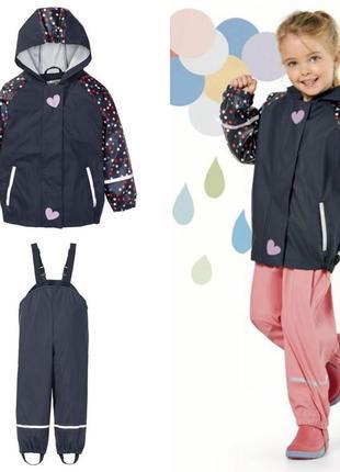 Костюм непромокаемый, дождевик , грязепруф куртка и полукомбинезон