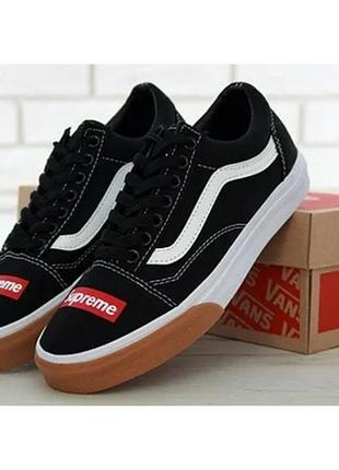 Кеды vans old skool supreme